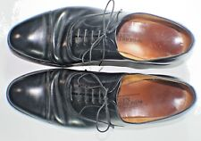 Allen Edmonds Park Avenue Cap Toe Lace Up Black Leather Oxford Shoes Size 11 B