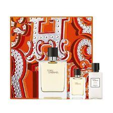 Set Homme Terre D'Hermès Parfum Edt 100ml + Miniature 12,5ml + Après-rasage