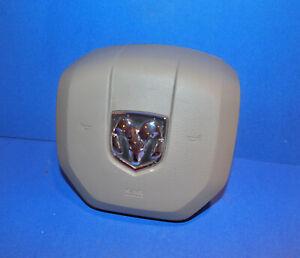 2011 2012 Dodge Ram Steering Wheel Air Bag Genuine OEM Tan W/90 Day Warranty