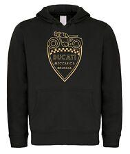 FELPA - DUCATI MECCANICA - old logo vintage hoodie SWEAT motor italian style
