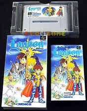 LAGOON Super Nintendo SNES Famicom Versione Giapponese NTSC ○○○○○ COMPLETO