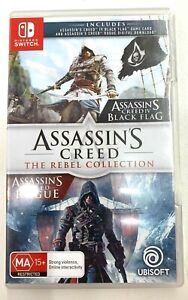 NINTENDO SWITCH - Assassin's Creed The Rebel Collection Game