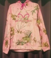 Womens Realtree Pink Camo Hoodie Size XL BNWT