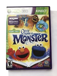 SESAME STREET - ONCE UPON A MONSTER 2011 XBOX 360 Game Kinect Required