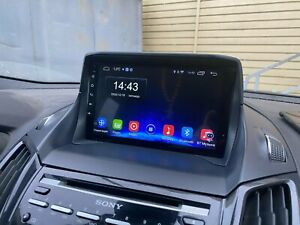 """AUTORADIO 9"""" Touch Android 10 FORD KUGA-CMAX 2013-2018 + retrocamera"""