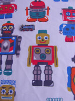 CAth Kidston 50cm square FQ Toy Robots lightweight fabric cotton new