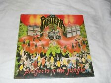 PANTERA LP Projects in Jungle SIGNED BY DIMEBAG 1984 original sold as is