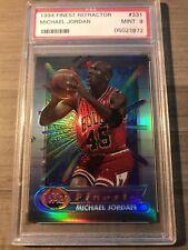 1994 Finest Michael Jordan Refractor With Coating PSA 9