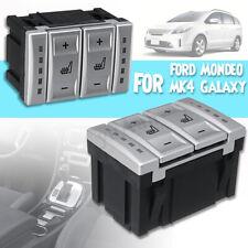 Silber Kunststoff Auto Sitzheizung Schalter Für Ford Mondeo MK4 MK3 S-MAX Galaxy