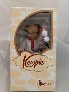 1993 Kewpie Vintage Effanbee 8 Inch Kewpie Sledding Figurine NIB W/ COA