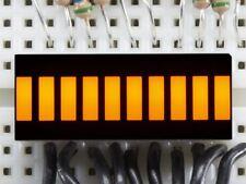 Adafruit 10 Segment Light Bar Graph LED Display - Yellow [ADA1922]