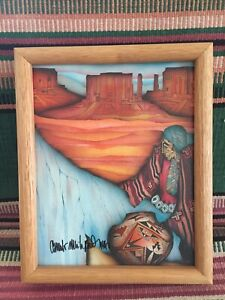5x7 image is matted and framed to 8x10. Signed reprint of my original \u201cAlexander Ranch\u201d painting