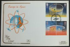 GB FDC 23/04/1991 Europe in Space on Cotswold with Soft Moon Landing SHS