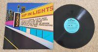 1982 UP IN LIGHTS - OZ FESTIVAL EMI LABEL COMPILATION LP - ROSE TATTOO JOAN JETT