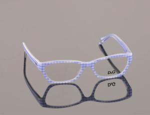Dolce & Gabbana Eyeglasses DG1216 1883 Checkered Frame 50mm Rx-Able Full Set ST*
