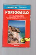 guida de agostini baedeker - portogallo  - altra edizione 1991
