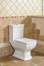 Nostalgie Retro Classic Wc Toilette Stand komplett set mit Spülkasten KERAMIK