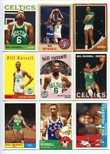 Lot cartes NBA 2007-08 Bill Russell Topps Basketball The Missing Years Celtics