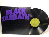 Black Sabbath Master of Reality BS 2562 green label 1st press 1971 VG+/G