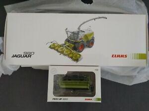 Marge Models Claas Jaguar 980 limited + Pick Up 300 1:32 neu OVP + 3 Prospekte