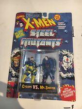 X-Men Steel Mutants - Cyclops vs. Mr. Sinister