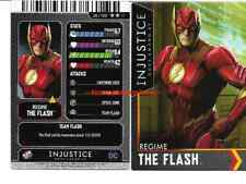 Injustice Arcade Dave and Busters Silver Card 28 The Flash NONFOIL