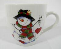 Royal Norfolk Coffee Cup/Mug Christmas Holiday Snowman Tea Mug/Cup 12 oz