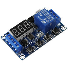 1-Way Relay Module DC 6-30V Delay Power-off Trigger Delay Cycle Timer Switch