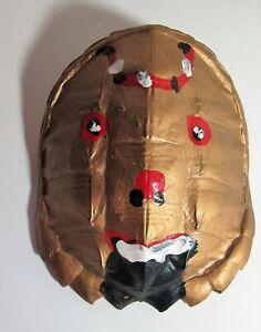 Outsider Art - Richard Burnside Painted Turtle Shell