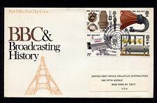 1972 Britain Edinburgh Bbc & Broadcasting History Fdc