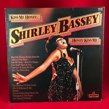 SHIRLEY BASSEY Kiss Me Honey, Honey, Kiss Me  UK vinyl LP EXCELLENT CONDITION