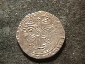 1556-1566 XF Spanish Silver Two 2 Real - Spain Seville Philip II 6.71 Grams