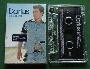 Darius Colourblind / It's Not Unusual (Live) + Cassette Tape Single - TESTED
