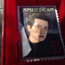 1998 Usps James Dean 3D Stamp Ornament Kurt S. Adler In Box