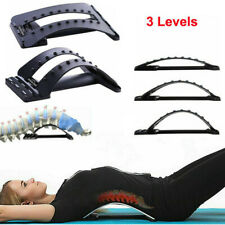 Massager Back Support Stretcher Extender Posture Chiro Lumbar Pain Relief