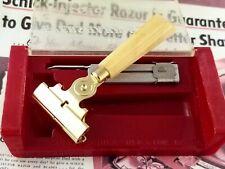 Schick Type G Vintage Injector Safety Razor in Case