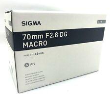 New SIGMA  70mm f/2.8 DG Macro Art Lens for Sony E Mount Full Frame Japan-made
