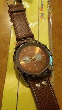 orologio crono-look Jay Baxter cinturino vera pelle-nuovo- A2224 - datario - C