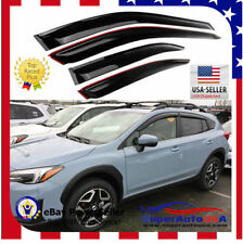Fit 2018 2019 SUBARU XV CROSSTREK OE JDM STYLE WINDOW VISOR VENT SHADE Deflector