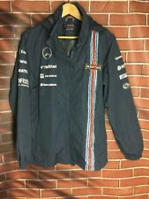 Preowned Women's Size XL Mercedes Williams Martini Racing Team Waterproof Jacket