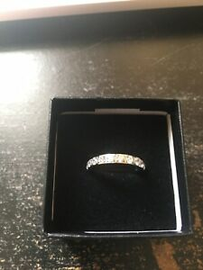 Women's Engagement Wedding Ring Zirconia Titanium 3mm Size 4