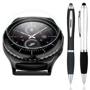 Stylus Pen + Tempered Glass Screen Protector For Samsung Galaxy Watch 4 Classic