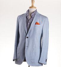 NWT $1595 LUCIANO BARBERA Unstructured Linen-Cotton Sport Coat 40 R (Eu50)