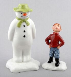 Royal Doulton Ltd Edition Snowman Figurine - James Builds A Snowman