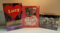 3 BOX LOT SET I Love Lucy Moments and Memories Pink Pacific and 50th Anniversary