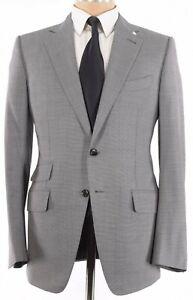 Tom Ford NWT Sport Coat Size 40R In Black & Light Gray Melange Wool O'Connor