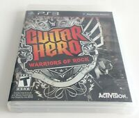 Sony PlayStation 3 Guitar Hero: Warriors of Rock Activision PS3 Complete Manual