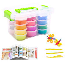 Crystal Clay 16 Colors Kids Toys Slime Children Educational Mud Creative Handmad