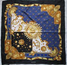 -Superbe Foulard  CARVIN   100% soie  TBEG  vintage scarf