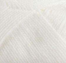 James C Brett Súper Suave ovillo de lana - Bebé DK - Blanco BB4 (100g)